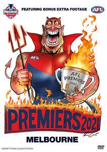 BRAND NEW AFL Premiers 2021 - Melbourne Demons Grand Final DVD