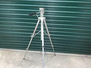 Vintage Velbon VGB-3 Telescoping Metal Tripod Support for Camera or Camcorder