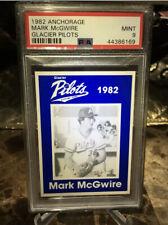 1982 ANCHORAGE GLACIER PILOTS MARK McGWIRE PSA 9 MINT !!!  RARE !!!