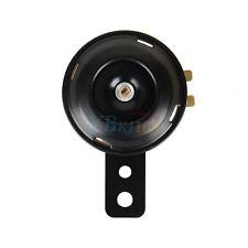 12V 105db Klaxon Trompette Noir Corne Etanche Pour Moto Vélo Voiture 65mm