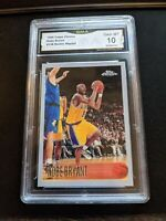 1996-97 Topps Chrome NBA Kobe Bryant Rookie Reprint LA Lakers RC Mint GMA 10