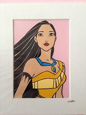 Disney Princess - Pocahontas - Hand Drawn & Hand Painted Cel