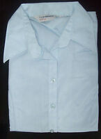 Ladies SKY BLUE Office/casual shirt blouse top, Size 14, Mandate Co-op JC996
