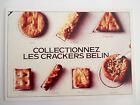 Carte Editions Atlas. Slogan Publicitaire 1982 Crackers Belin