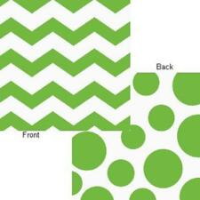 Chevron Polka Dots Fresh Lime Modern Party Supplies Paper Luncheon Napkins