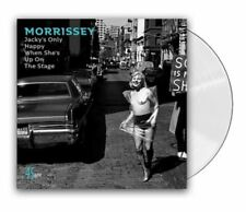 "Morrissey Jacky's Only Happy When She's Up On the Stage 7"" CLEAR VINYL SINGLE"