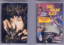 LOT 2 Paula Abdul (spellbound/adventure of mc skat kat stray mob) Cassettes NEW