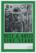 Red Hot Chili Peppers 2002 Tour Backstage Pass