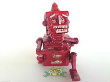 RED ROBOT MONEY BOX BANK Hubley Robert The Robot 1950 Movable CAST IRON