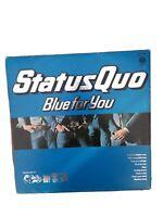 """STATUS QUO - BLUE FOR YOU - 12"""" Vinyl LP  UK Press  9102006  Excellent Vinyl con"""