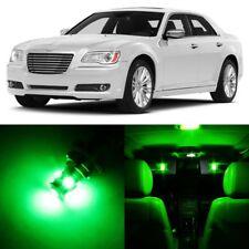 19 x ULTRA GREEN Interior LED Light Package For 2011-2014 Chrysler 300 300C+TOOL