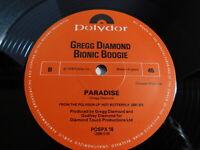 "Gregg Diamond Bionic Boogie– Cream (Always Rises To The Top) 12"" Single 1978 UK"