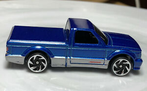 Hot Wheels Turbo '91 GMC Syclone  Blue 1/64 Diecast Loose