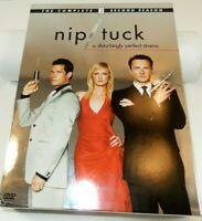 Nip/Tuck - The Complete Second Season (DVD, 2005, 6-Disc Set) Ships Free!