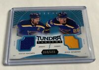 B1,814 - 2015-16 Artifacts Tundra Tandems Jerseys Blue #TTSB Backes/Stastny /399