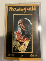 Running Wild - Death or Glory Cassette 1989 Noise FWT 45495 NM RARE