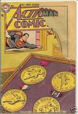 Action Comics 1938 series # 207 fair condition comic book