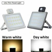 100W Motion Sensor Flood Light Waterproof Security Safety LED Outdoor Lighting