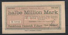 Eichendorf  -  Bankhaus Eckert  -  1/2 Million Mark            (RO-20)