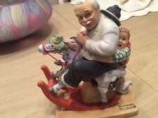 Norman Rockwell Figurine - Gramps at the Reins-1980 Danbury Mint