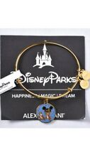 Alex and Ani Chip 'n Dale 2018 Disney Parks Charm Bangle Bracelet Gold  NEW  Z3