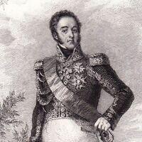 Portrait XIXe Maréchal Suchet Louis Gabriel Duc d'Albufera Empire Tarragone
