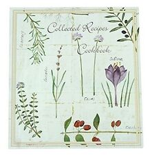 Recipe Card Cookbook Organizer, Botanical Treasures, New, Meadowsweet Kitchens