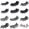 Long Natural Thick Handmade False Eyelashes Eye Lashes Fake 3D Mink 5 Pairs