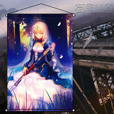 Fate/stay Night Altria Saber Home Decor Poster Wall Scroll Paintings 60cm*90cm