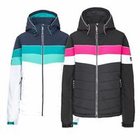 Trespass Kinsale Women Ski Jacket Padded & Windproof in Black & White