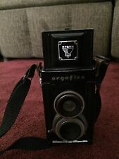 Argoflex 620 Film Box Camera Vintage Argus 1940's 75mm F4.5 Anastigmat Lens