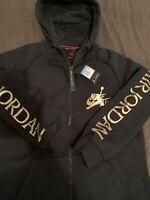 Nike/Retro Jordan Jumpman Classic Blk/Gold Men's Sz M
