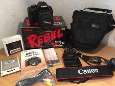 Canon EOS 550D / Rebel T2i 18.0MP Digital SLR Camera - (Kit w/ EF-S IS II)