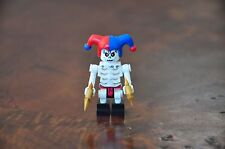 LEGO 1x Minifig Mini Figure Skeleton Ninjago Jester with weapons Excellent