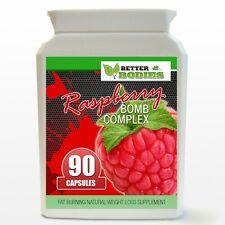 Better Bodies Raspberry BOMB Extreme Complex Weight Loss Diet Pills 90 Bottle