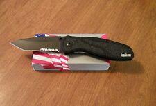 KERSHAW New Ken Onion Black Blur Black Part Serrated Tanto Blade Knife/Knives