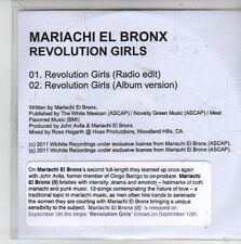 (CG496) Mariachi El Bronx, Revolution Girls - 2011 DJ CD