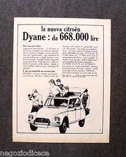 N638 - Advertising Pubblicità - 1968 - NUOVA CITROEN DYANE