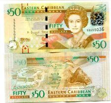 EAST CARIBBEAN 50 DOLLARS ND (2016) P-54b UNC