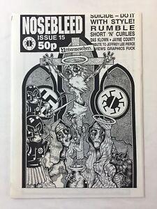 1997 zine ~ NOSEBLEED ~ Das Klown, Jayne County
