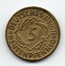 Germany - Duitsland - 5 Pfennig 1924 D