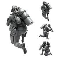 1/35 Moderne amerikanische Armee amphibische Kommando-Harz-Soldat-Modell E5W8