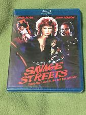 Free*Postage New Savage Streets Blu Ray Code Red Linda Blair John Vernon Quigley