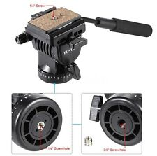 YunTeng Yt-950 DSLR Camera Video Fluid Drag Tilt Pan Head for Nikon Canon Sony