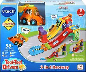 VTech Toot-Toot Drivers 3-in-1 Raceway
