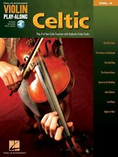 Celtic Violin Play-Along Book and Audio NEW 000842155