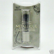 LOREAL LIMITED EDITION METALLIQUE FOIL CRAYON  EYECOLOUR #BLACK