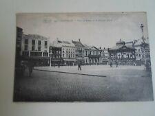 OSTENDE - Place d'Armes et le Kiosque Fleuri -  Vintage Postcard  §E3074
