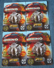 RHINO GOLD 50K Long Lasting Male Enhancement 4 Pills