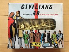 Airfix Civilians OO & HO 48 figures Vintage